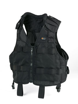 Lowepro S&F Technical Vest Small/Medium (Black) - B&C Camera - 1