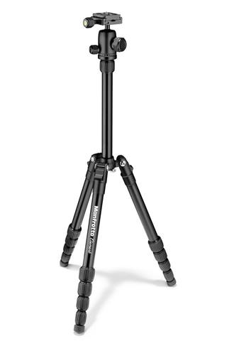 Manfrotto Element Traveller Tripod Small with Ball Head - Black by Manfrotto at B&C Camera