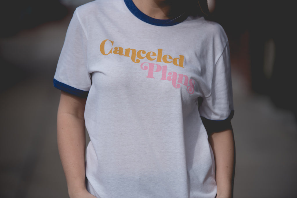 Canceled Plans Ringer Tee