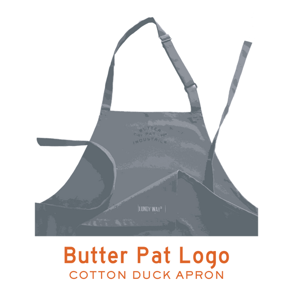 BUTTER PAT LOGO - COTTON DUCK APRON