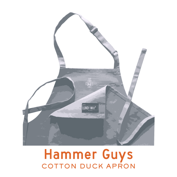 HAMMER GUYS - COTTON DUCK APRON