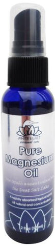 White Egret Pure Magnesium Body Oil, 2 Ounce