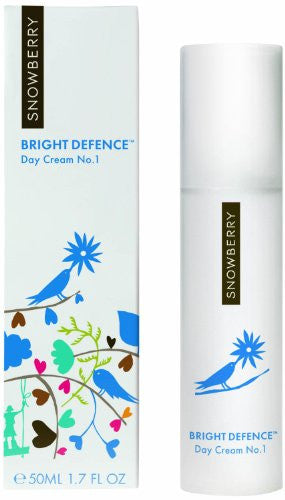 SNOWBERRY Bright Defence No.1 Day Cream, 1.70 Ounce