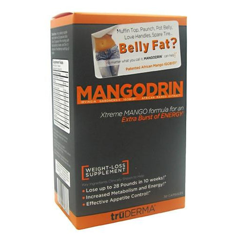 TruDERMA Mangodrin Weight Loss Supplement 30 Capsules