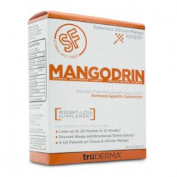 TruDERMA Mangodrin Stimulant Free Weight Loss Supplement 90 Capsules