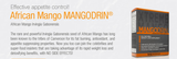 TruDERMA Mangodrin Weight Loss Supplement 60 Capsules