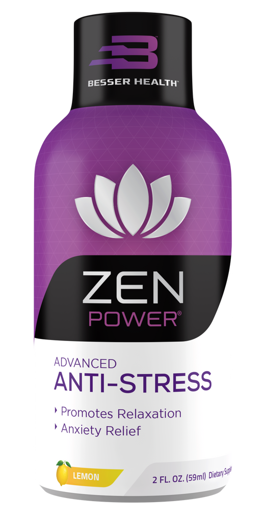 ZEN POWER ADVANCED ANTI-STRESS + RELAXATION 2 oz SHOT 12 pack