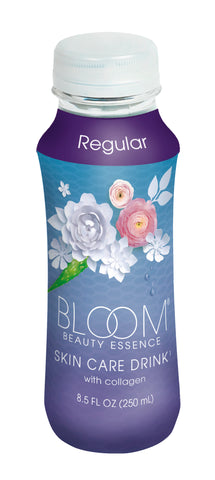 Bloom Beauty Essence Skin Care Drink  8.5 oz Regular 4 PK