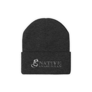 Embroidered Native Amaru-Khan Knit Beanie - 1