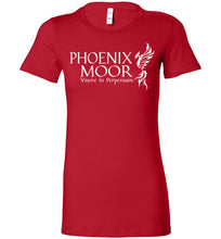 Load image into Gallery viewer, Phoenix Moor Women's White T-2