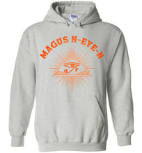 Load image into Gallery viewer, Magus N-eye-N Hoodie - Sunset Orange