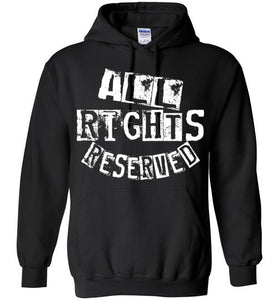 All Rights Reserved Hoodie White 1