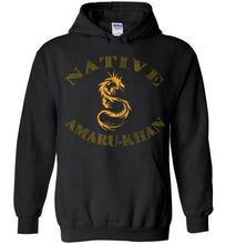 Load image into Gallery viewer, Native Amaru-Khan Hoodie - Mayan Gold