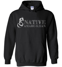 Load image into Gallery viewer, Native Amaru-Khan Hoodie White Font - 2