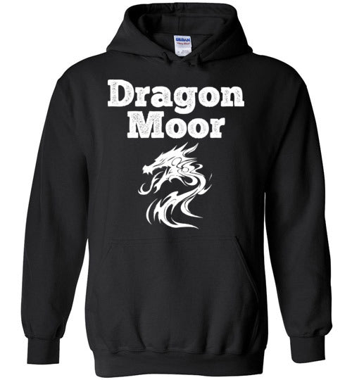 Fire Dragon Moor Hoodie - White Dragon
