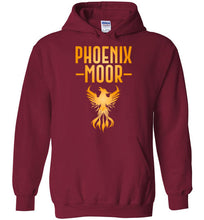 Load image into Gallery viewer, Fire Bird Phoenix Moor Hoodie - Gold Flame