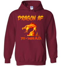 Load image into Gallery viewer, Dragon AS F**K Hoodie - Red Dragon