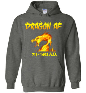 Dragon AS F**K Hoodie - Gold Dragon