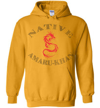 Load image into Gallery viewer, Native Amaru-Khan Hoodie  - Red & Black