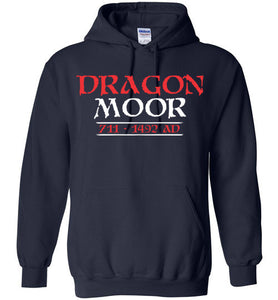 Dragon Moor Hoodie Red & White - 2