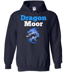 Fire Dragon Moor Hoodie - Blue Dragon