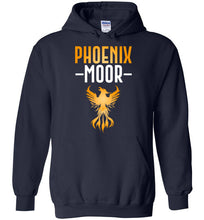 Load image into Gallery viewer, Fire Bird Phoenix Moor Hoodie - Gold & White