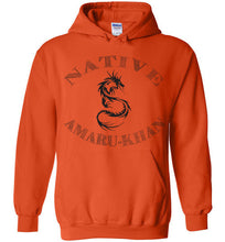 Load image into Gallery viewer, Native Amaru-Khan Hoodie - Black