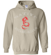Load image into Gallery viewer, Native Amaru-Khan Hoodie - Red & White