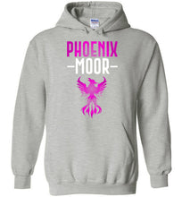 Load image into Gallery viewer, Fire Bird Phoenix Moor Hoodie - Royal Violate & White