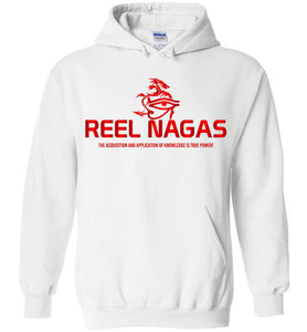 Reel Nagas Hoodie - Fire Nation Red