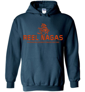 Reel Nagas Hoodie - Blood Orange
