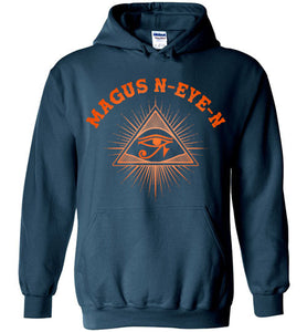 Magus N-eye-N Hoodie - Sunset Orange