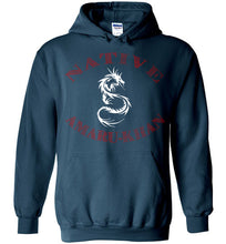 Load image into Gallery viewer, Native Amaru-Khan Hoodie - Sunset Red & White