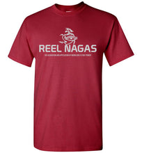 Load image into Gallery viewer, Reel Nagas Tee - Silver