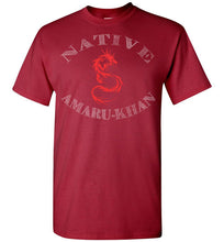 Load image into Gallery viewer, Native Amaru-Khan Tee - Red & White