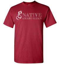 Load image into Gallery viewer, Native Amaru-Khan Tee White Font - 2