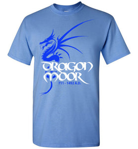 Dragon Moor Tee - Blue Dragon