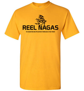 Reel Nagas Black Tee - 1
