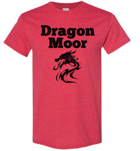Load image into Gallery viewer, Fire Dragon Moor Tee - Black Dragon