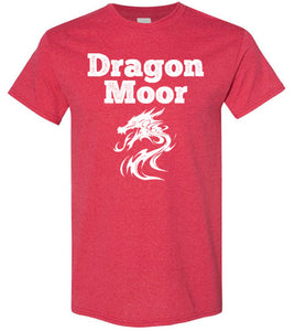 Fire Dragon Moor Tee - White Dragon
