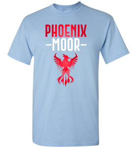 Fire Bird Phoenix Moor Tee - Crimson Flame