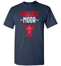 Load image into Gallery viewer, Fire Bird Phoenix Moor Tee - Crimson Flame