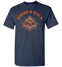 Load image into Gallery viewer, Magus N-eye-N Tee - Sunset Orange