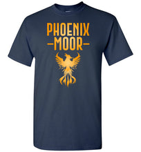 Load image into Gallery viewer, Fire Bird Phoenix Moor Tee - Gold Flame
