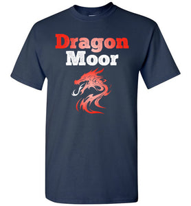 Fire Dragon Moor Tee - Red & White