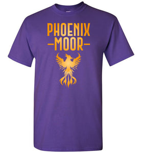 Fire Bird Phoenix Moor Tee - Gold Flame