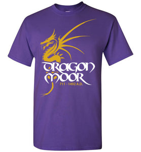 Dragon Moor Tee 1 - Mayan Gold Dragon