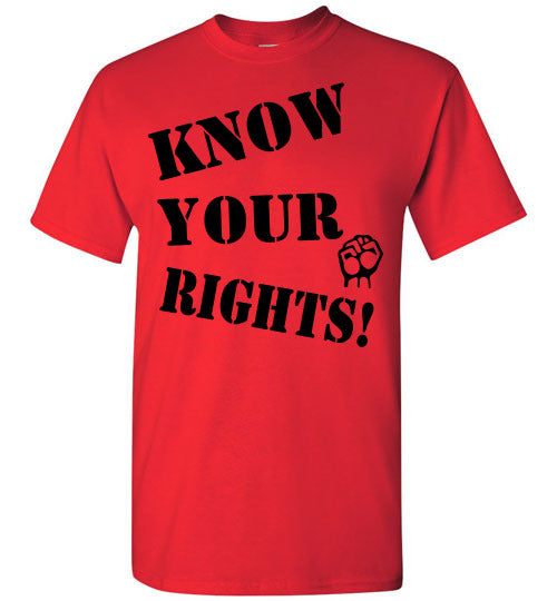 Know Your Rights Tee - Fist