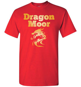 Fire Dragon Moor Tee - Gold Dragon