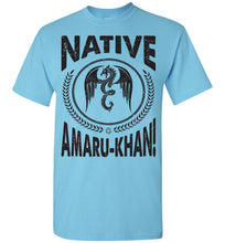 Load image into Gallery viewer, Native Amaru-Khan Tee Black Font - 1